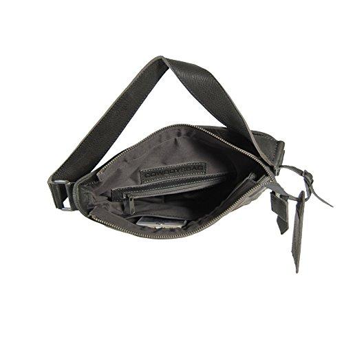 Cowboysbag Amsterdam Sac Amble sac d'épaule de sac à main en cuir gris Sac Hobo