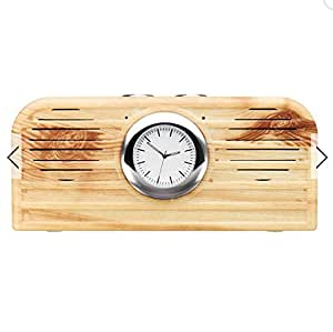 KOGI Bluetooth 4.1 Wood Grain Speaker Support TF AUX Phone Call