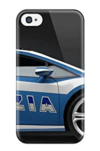 Jeremy Myron Cervantes Case Cover Protector Specially Made For Iphone 4/4s 2009 Lamborghini Police Car Wide