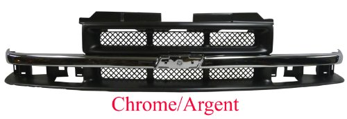 Chev S10 Pick Up Truck Chrome Front Grille Car/ARG Alsp Blazer W/Mesh New