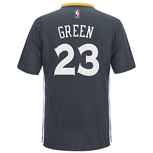 Draymond Green Golden State Warriors Adidas Alternate Swingman Jersey (Charcoal) L
