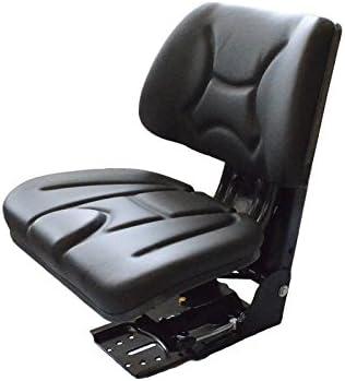 Universal Traktorsitz Schleppersitz Traktor Sitz mit Rückenlehne Treckersitz PVC