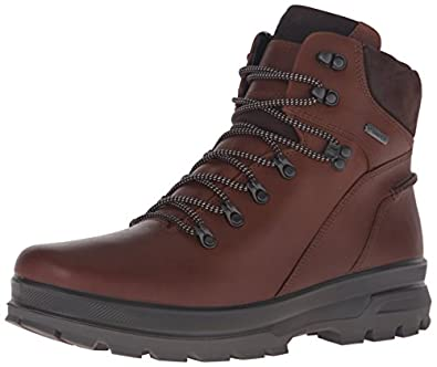 Amazon.com | ECCO Men's Rugged Track GTX High Hiking Boot | Hiking ...