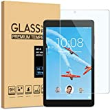 [2 Pack] Lenovo Tab E8 Screen Protector, KATIAN HD Clear Protector [Anti-Scratch] [No-Bubble] [Case-Friendly], 9H Hardness Tempered Glass Screen Film for Lenovo Tab E8