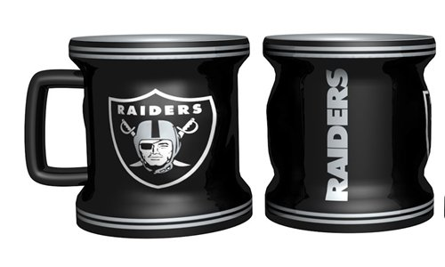 Oakland Raiders Sculpted Mini Mug Shot Glass