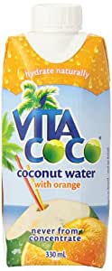 Vita Coco Coconut Water with Tangerine, 11.2-Ounce Tetra Paks (Pack of 12)