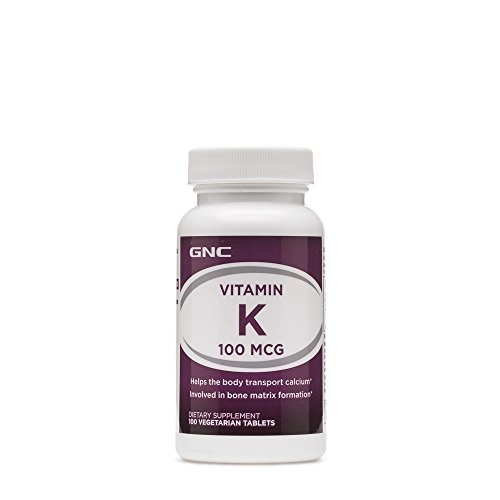 GNC Vitamin K 100 Vegetarian Tablets