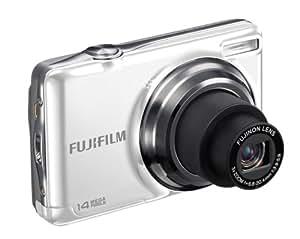 """Fujifilm FinePix JV300 - Cámara compacta de 14 Mp (pantalla de 2.7"""", zoom óptico 3x, estabilizador de imagen ) color blanco"""