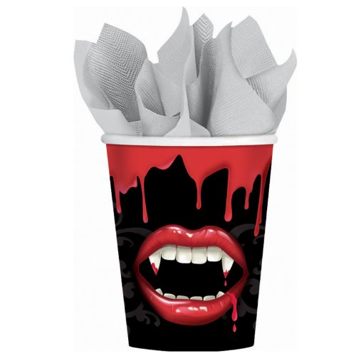 Amscan - Fangtastic Halloween 9 oz. Paper Cups