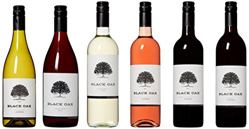 Black Oak Super Duper Red, White, Blush Wine Mixed Pack 6 x 750 ml