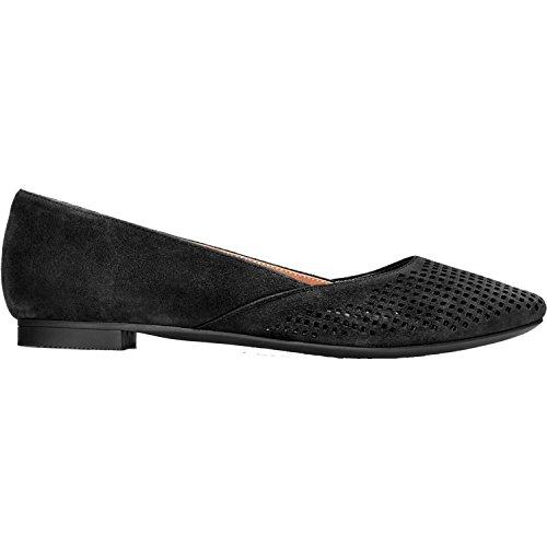 Vionic Womens Gem Posey Ballet Flat Black Size 8