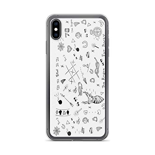 iPhone Xs Max Case Cases Clear Anti-Scratch Louis Tomlinson Tattoos, Louis Cover Case for iPhone Xs Max, Crystal Clear]()