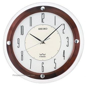 Amazon.com: Seiko R Wave Wall Clock #QXR109BLH: Watches