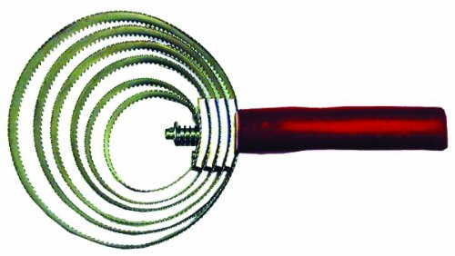 (IMPORTED HORSE &SUPPLY Spiral Curry Comb for Pets)