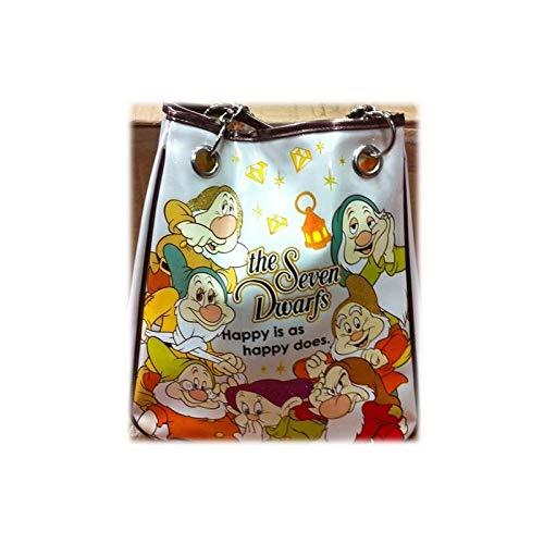 Disney Borsa a spalla con catenelle pandorina Sette Nani Walt vernice