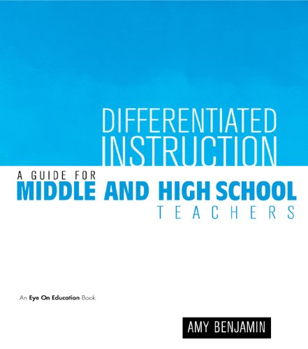 Download Differentiated Instruction: A Guide for Middle and High School Teachers Pdf