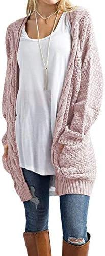 Traleubie Womens Boyfriend Cardigan Sweater product image