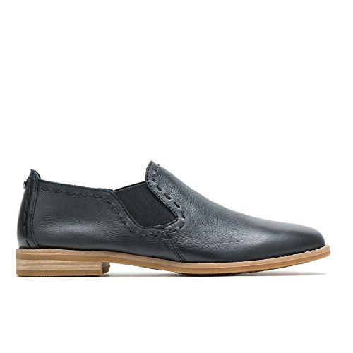 Hush Puppies Chardon Slip-On Women 8 Black Leather