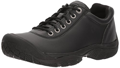 KEEN Utility Men's PTC Dress Oxford Work Shoe,Black,10.5 M US - Ultimate Work Oxford