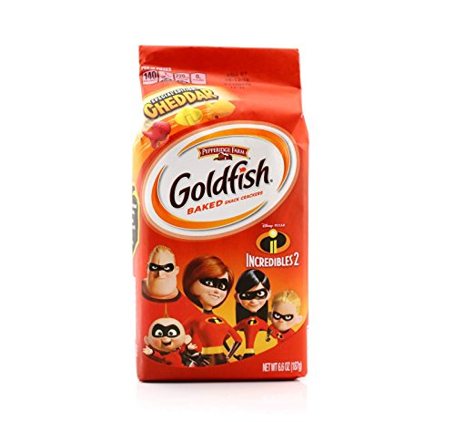 Goldfish Disney Pixar Incredibles Pepperidge Farm C2 Special Edition!heddar Baked Snack Crackers