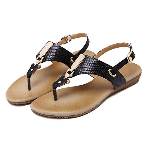 aux femmes tongs Chaussures en sandale Des boucles dEurope