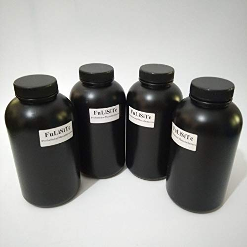 Printer Parts 4piece/lot Genuine Yoton 4 Color 1000ml UV Inks Bottle 1L Black Color Bottle UV sub Ink Tank Adapter