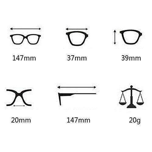 Soleil Rose Eyewear Miroité Deylaying Lunettes Homme Rétro Polarisées de Pour Sunglasses Triangle Femme Métallique UV400 qTt6v