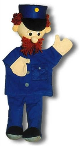 Trullala Marionetta, Burattino - Poliziotto Blu - disponibile in diverse misure 25009