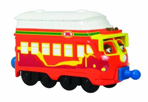 Chuggington Locomotora Decka, color rojo con blanco