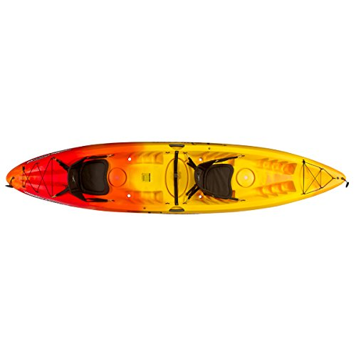 Ocean Kayak Malibu Two XL Tandem Kayak (Sunrise, 13 Feet 4 Inches) (Malibu Xl Kayak)