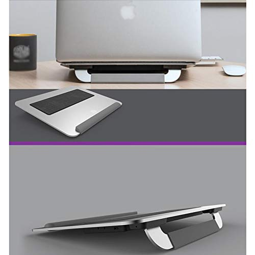Ho,ney Laptop Cooler - Folding Portable Wear-Resistant Anti-Slip, Double 8cm Silent Fan for 15 Inches Or Less -1053 Notebook Cooler by Ho,ney (Image #7)
