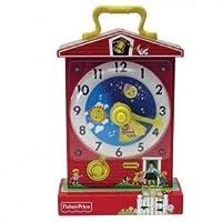 Reloj de enseñanza clásico de Fisher Price