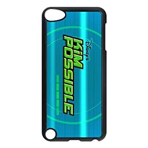 ipod 5 Black phone case Classic Style Disney Cartoon Kim Possible A Sitch in Time WHD8974389