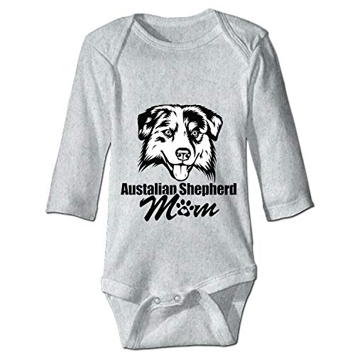 XASFF Sheep and Dog Breed Pets One-Piece Suit Long Sleeve Home Outfit for Baby Boys Girls -