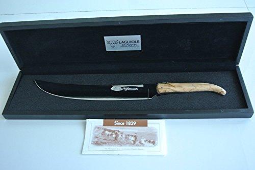 Laguiole en Aubrac Champagne Saber Stainless Steel Olivewood by Laguiole en Aubrac