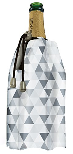 Chill Jacket Insulated Bottle (Vacu Vin Rapid Ice Champagne Cooler - Diamond Grey)