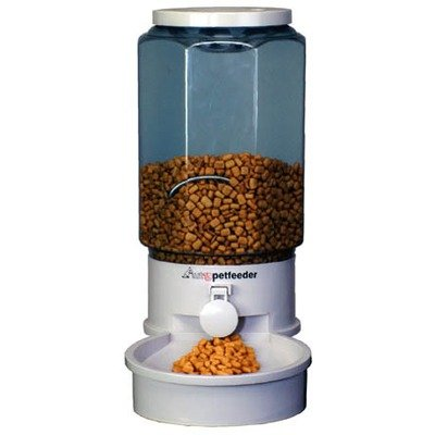 Automatic Pet Feeder LARGE (Dogs and Pigs over 40 lbs.) by Ergo Systems inc.