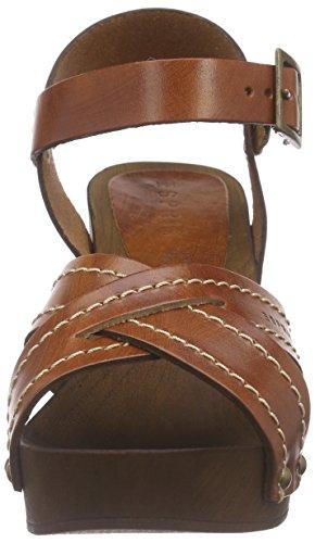 Esprit Cheri Sandal - Zuecos Mujer Marrón - Braun (220 rust brown)