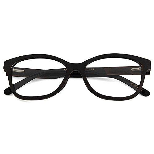 d71ffd80d4 Adult Eyewear Gafas de madera de alta calidad de los hombres Gafas de ojo  de gato