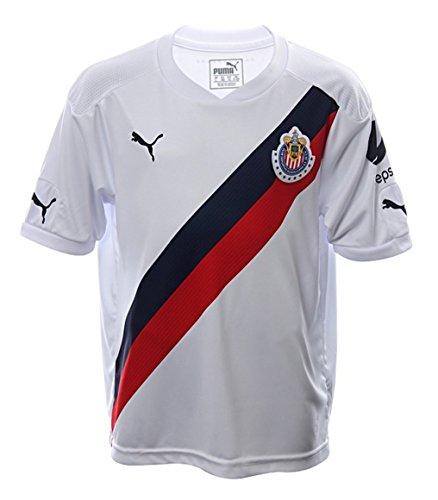 Puma Chivas KIDS Away 2016/17 Replica Jersey-WHITE ()
