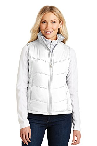Port Authority - Ladies Puffy Vest. L709 - XX-Large - White ()