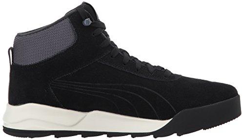Puma Desierto Sneaker Wildleder Turnschuhe Puma Black-puma Black-whisper Bianco