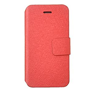 Fashion Colorful PU Leather Full Body Case for iPhone 4/4S(Assorted Color) --- COLOR:Black