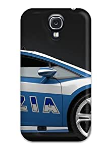 Galaxy S4 Case, Premium Protective Case With Awesome Look - 2009 Lamborghini Police Car Wide