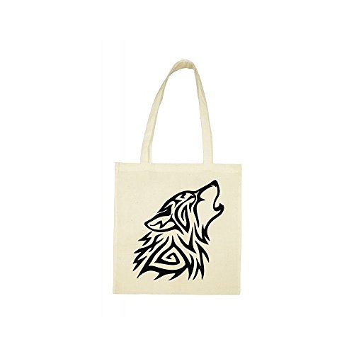 Tote beige loup Tote beige bag loup tribal loup Tote beige bag tribal bag tribal zzSHqwx