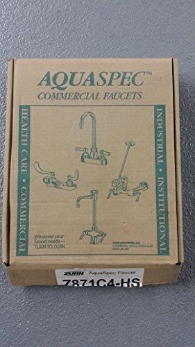 Zurn Z871C4 Double Handle Kitchen Faucet with Metal Lever Handles from the Aquaspec Series, - Kitchen Sink Faucet Aquaspec