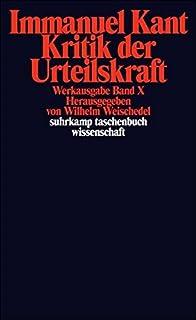 Kritik Der Urtielskraft by Immanuel Kant