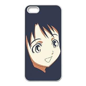 funda iPhone S9V61 Shinobu M8R1WO 4 4s funda del teléfono celular de cubierta blanca WT5JAG8HC
