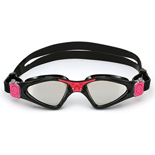 Aqua Sphere Kayenne Ladies with Mirrored Lens (Black/Pink) Swim Goggles for Women. by Aqua Sphere (Image #3)