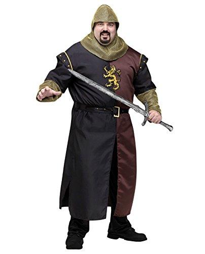 Valiant Knight Adult Costume - Plus Size -